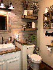 Modern farmhouse bathroom decor ideas (38)