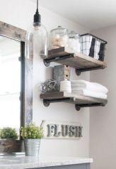 Modern farmhouse bathroom decor ideas (39)