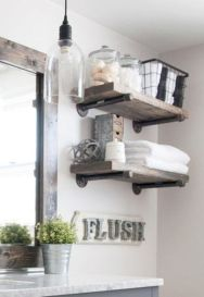 Modern farmhouse bathroom decor ideas (39)