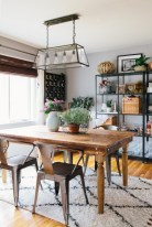 Modern farmhouse dining room decorating ideas (2)