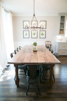 Modern farmhouse dining room decorating ideas (20)