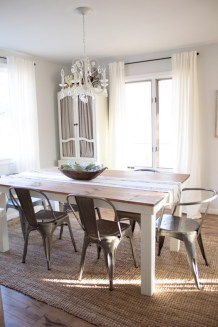 Modern farmhouse dining room decorating ideas (33)