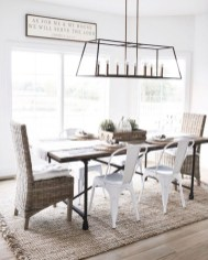 Modern farmhouse dining room decorating ideas (4)