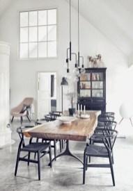 Modern farmhouse dining room decorating ideas (5)