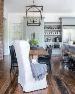 Modern farmhouse dining room decorating ideas (6)