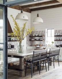 Modern farmhouse dining room decorating ideas (7)