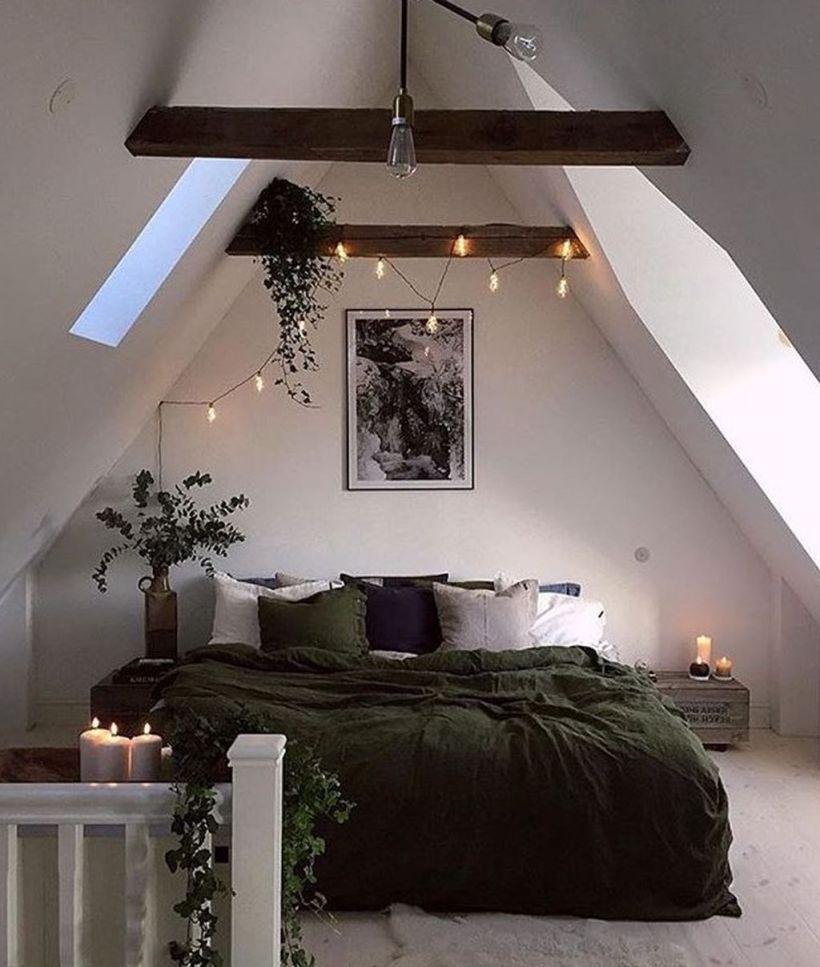 Nice loft bedroom design decor ideas 02