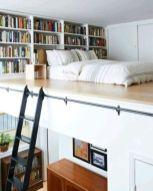 Nice loft bedroom design decor ideas 15