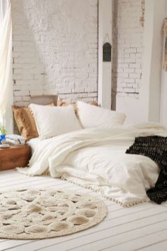 Nice loft bedroom design decor ideas 33