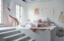 Nice loft bedroom design decor ideas 37