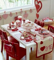 Romantic diy valentine decorations ideas 25