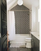Stunning attic bathroom makeover ideas on a budget 16