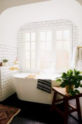 Stunning attic bathroom makeover ideas on a budget 17