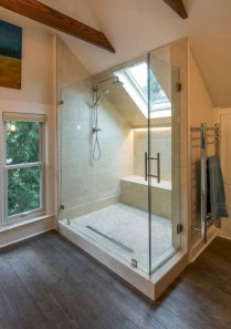 Stunning attic bathroom makeover ideas on a budget 19