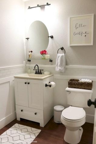 Stunning attic bathroom makeover ideas on a budget 39