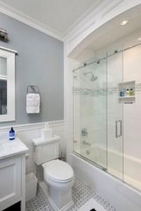 Stunning attic bathroom makeover ideas on a budget 44