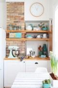 Stunning corner shelves decoration ideas 07