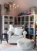 Stunning corner shelves decoration ideas 10