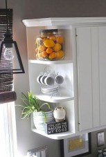 Stunning corner shelves decoration ideas 16