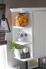 Stunning corner shelves decoration ideas 16