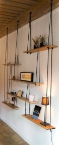 Stunning corner shelves decoration ideas 28