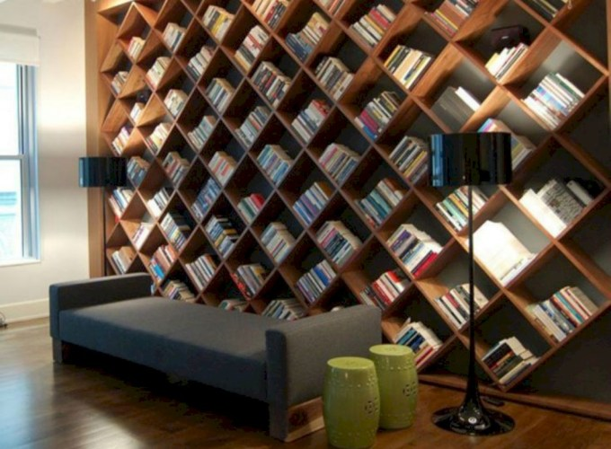 Stunning corner shelves decoration ideas 33
