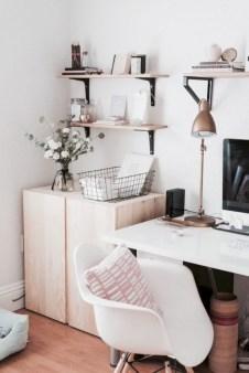 Stunning corner shelves decoration ideas 38
