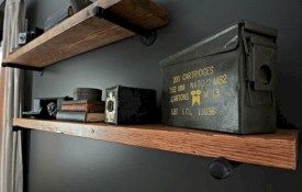 Stunning corner shelves decoration ideas 43