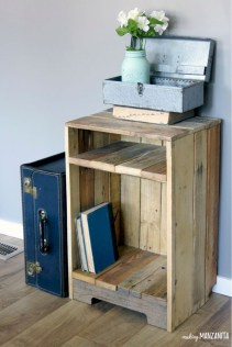 Stunning diy pallet furniture design ideas (25)