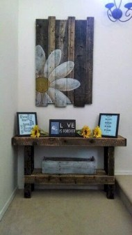 Stunning diy pallet furniture design ideas (31)