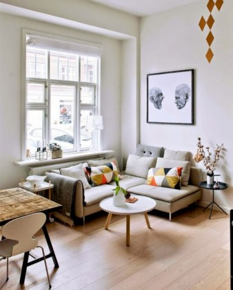 Totally inspiring small apartment decorating ideas on a budget 11