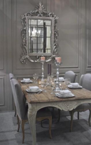 Vintage victorian dining room decor ideas (12)