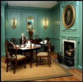 Vintage victorian dining room decor ideas (19)