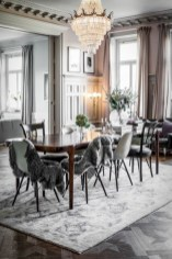 Vintage victorian dining room decor ideas (25)