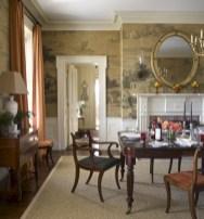 Vintage victorian dining room decor ideas (39)