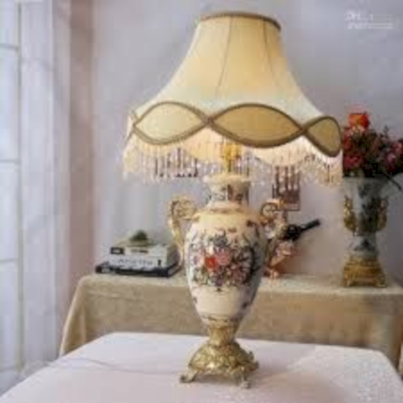 43 Vintage Victorian Lamp Shades Ideas For Your Bedroom