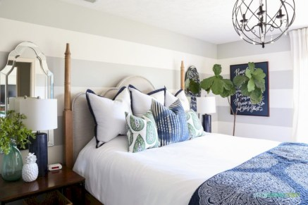 Wonderful green bedroom design decor ideas (19)