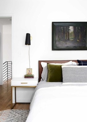 Wonderful green bedroom design decor ideas (2)
