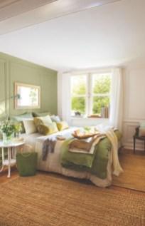 Wonderful green bedroom design decor ideas (24)