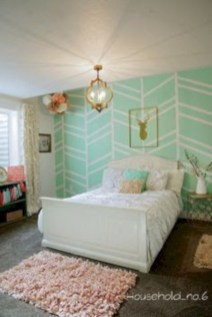 Wonderful green bedroom design decor ideas (25)