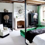 Wonderful green bedroom design decor ideas (40)