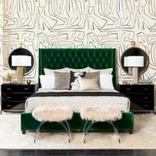 Wonderful green bedroom design decor ideas (6)