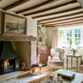 Beautiful french country living room ideas 08
