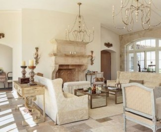 Beautiful french country living room ideas 09