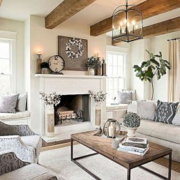 Beautiful french country living room ideas 18