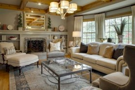 Beautiful french country living room ideas 21