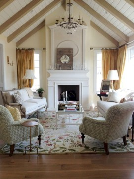 Beautiful french country living room ideas 35