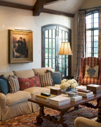 Beautiful french country living room ideas 42