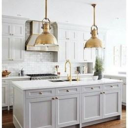 Beautiful gray kitchen cabinets design ideas 05