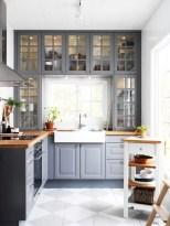 Beautiful gray kitchen cabinets design ideas 09